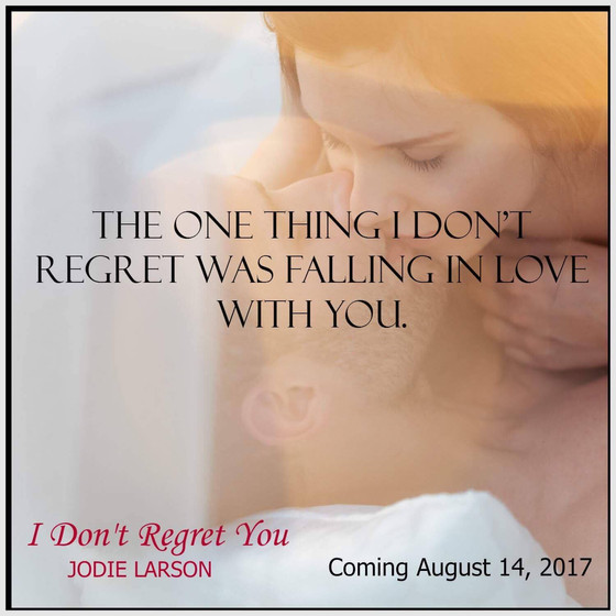I Don't Regret You Cover Reveal Sign-up