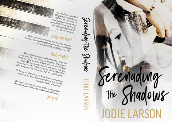 Serenading the Shadows Cover Reveal