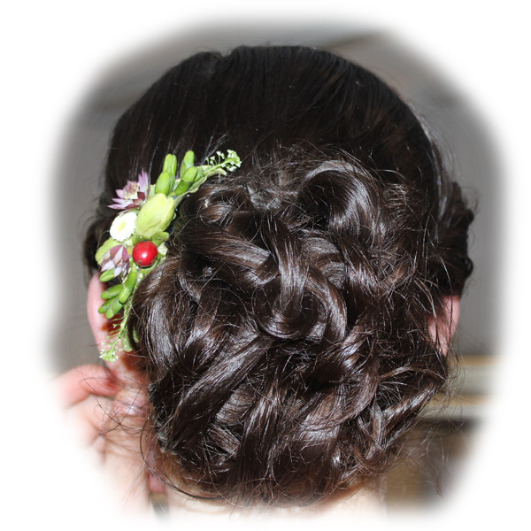 Amanda's Wedding Hair