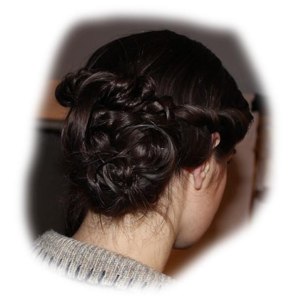 Amanda's Wedding Hair
