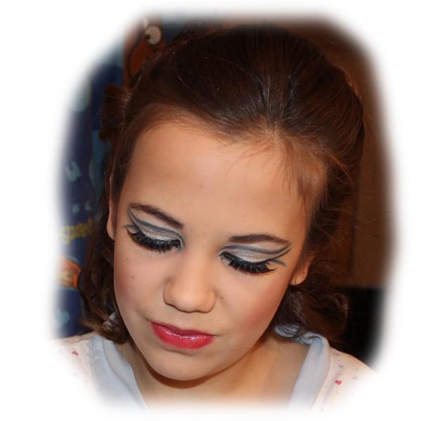 Georgina's Masquerade Makeup Eyes