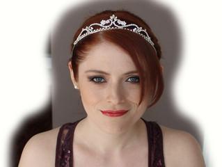 Hannah's Bridal Makeup and Hair Trial