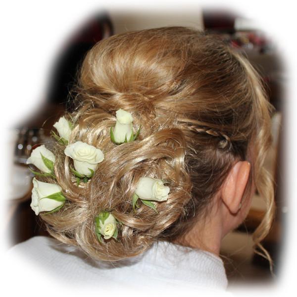 Alex's Wedding Hair