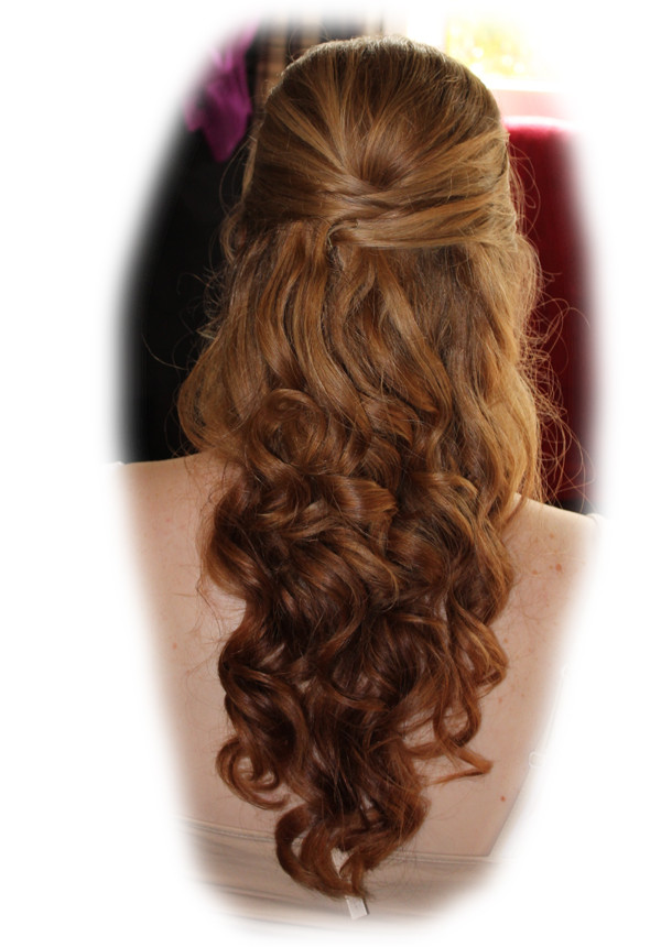 Stephanie's Bridal Hair