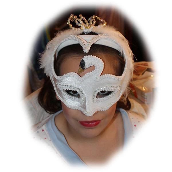 Georgina's Masquerade Makeup and Masque