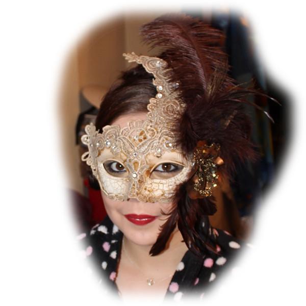Philippa's Masquerade Makeup and Masque