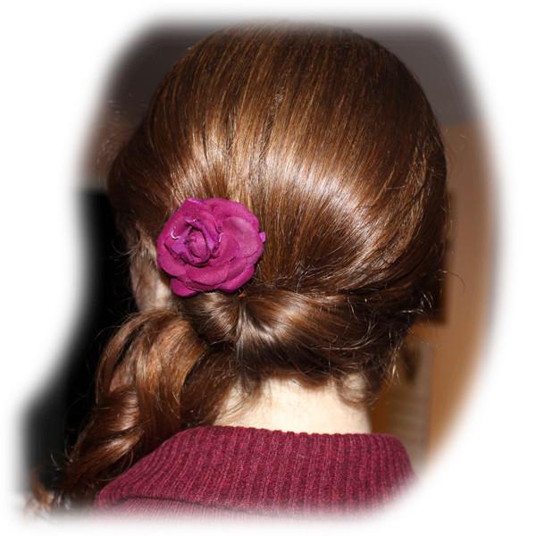 Jackie's Wedding Hair
