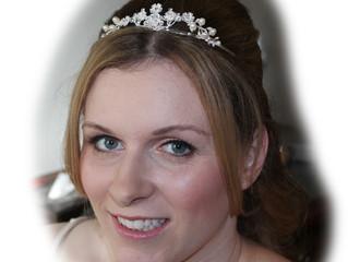 Stephanie's Wedding Airbrush Makeup and Bridal Hair
