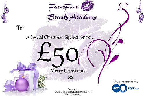 Personalised Gift Card £50