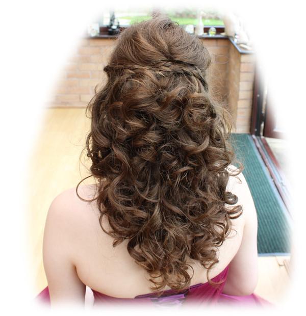 Sarah's Prom Hair Styling