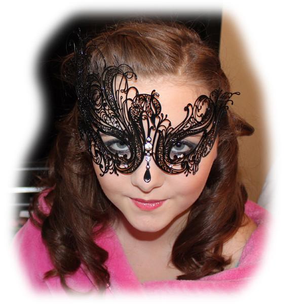 Charley's Masquerade Makeup and Masque