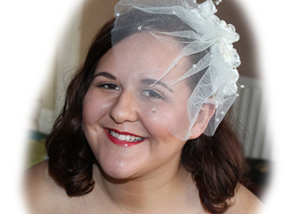 Sophie's Bridal Makeup and Hair Trial
