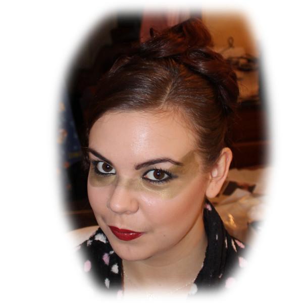 Philippa's Masquerade Makeup