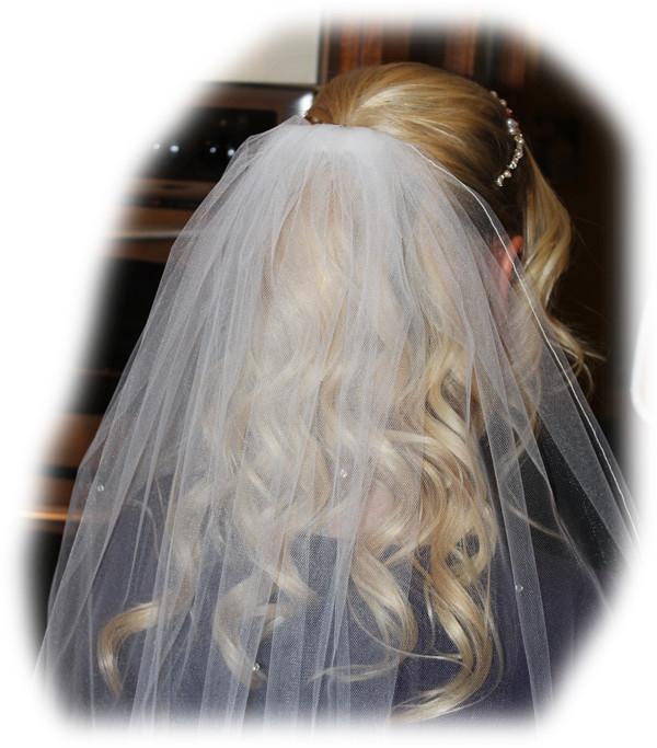 Kerry's Wedding Hair
