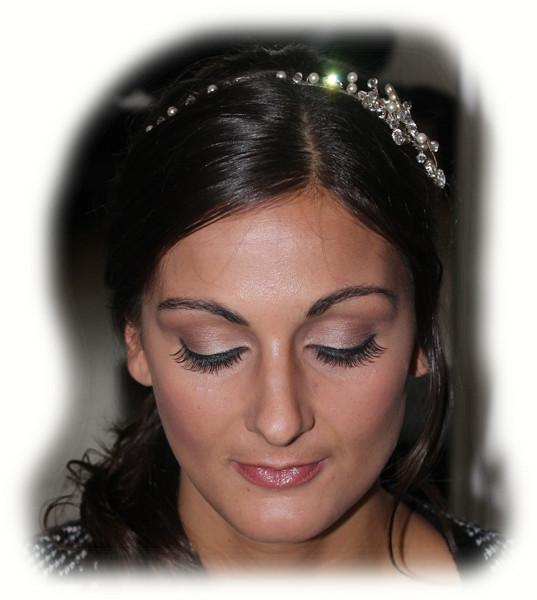 Georgia's Wedding Makeup - Eyes