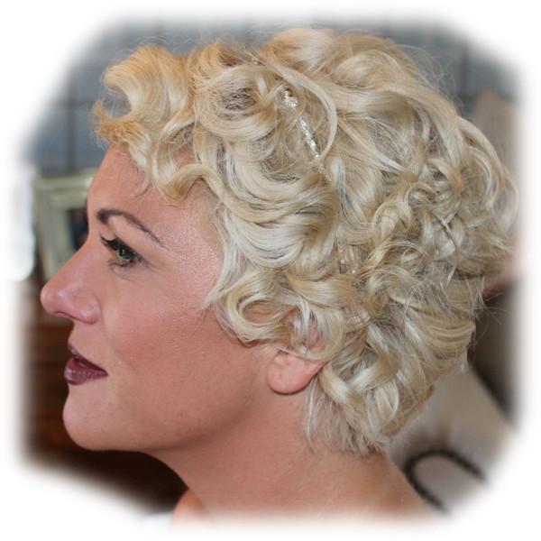 Kay's Bridal Hair Styling