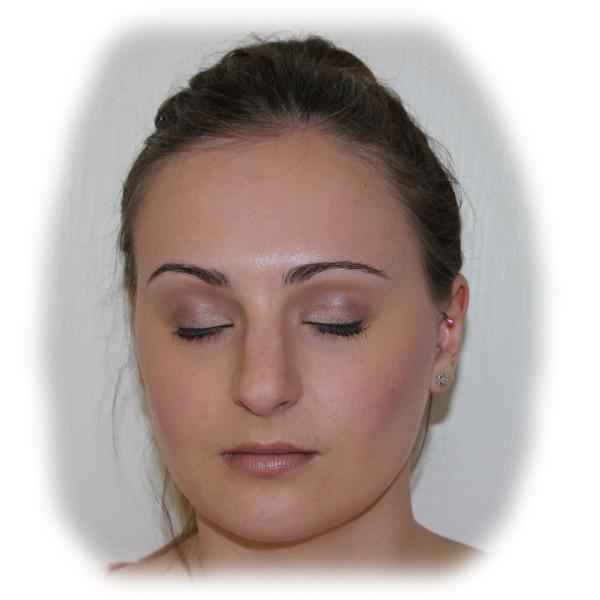 Laura Bridal Makeup Trial - Eyes