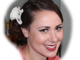 Gemma's Wedding Makeup and Hair Trial