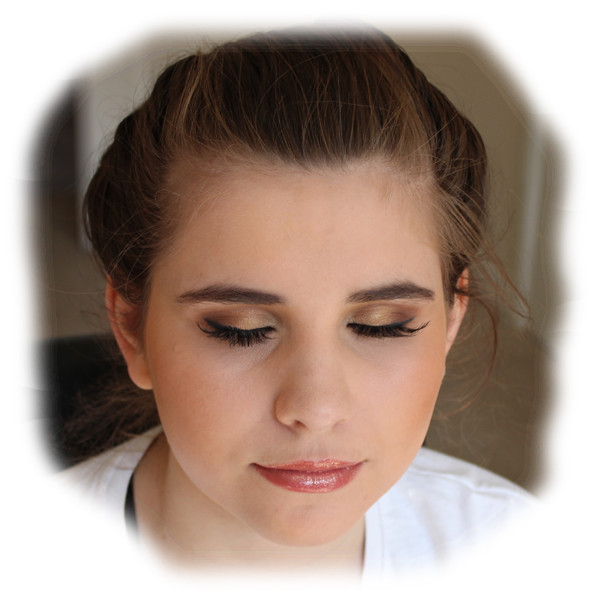 Cara's Prom Makeup - Eyes