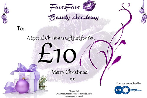 Personalised Gift Card £10
