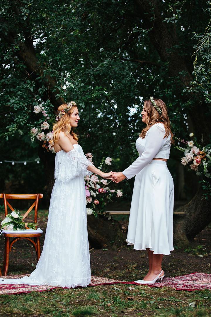 Brides from Eggington House Wedding