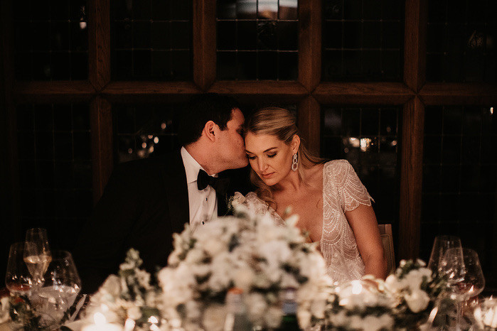 Bride and Groom from Maison Talbooth Wedding