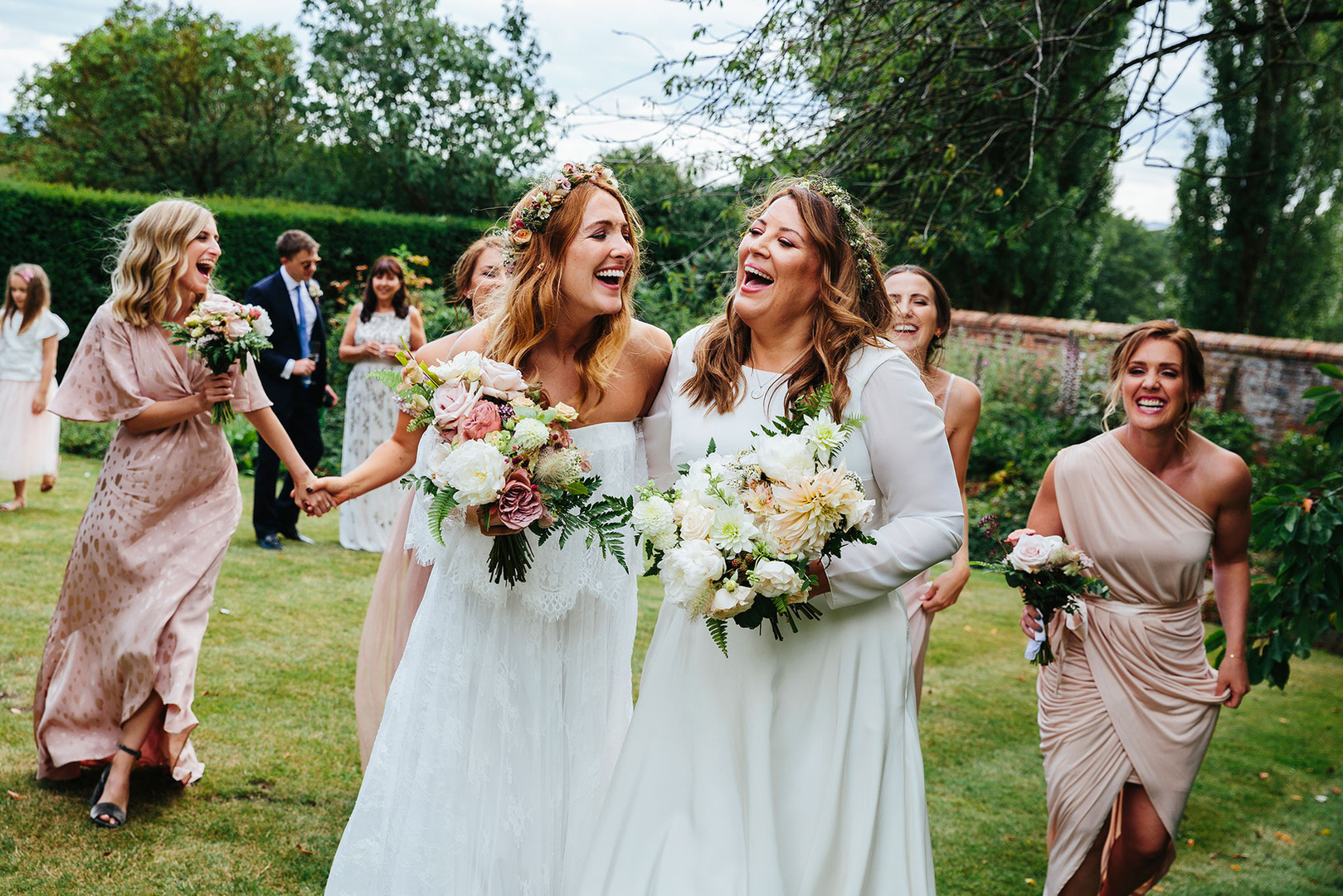 Bridal Party from Eggington House Wedding