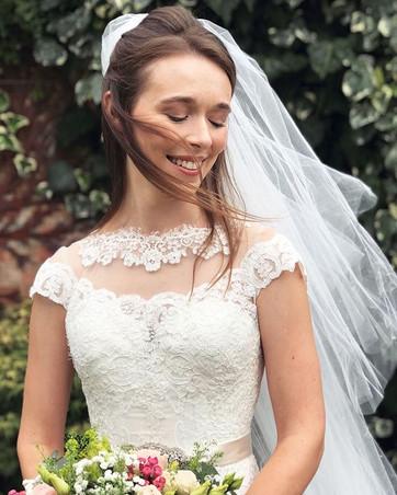 Bride from Hertfordshire Wedding