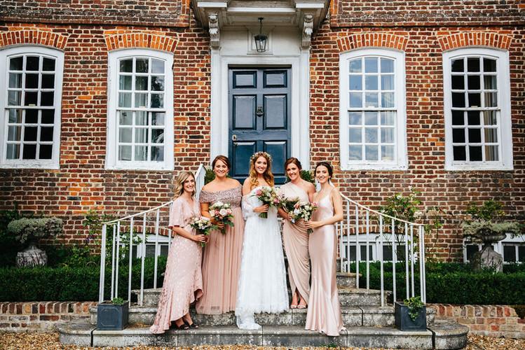 Bridal Party from Eggington House Wedding
