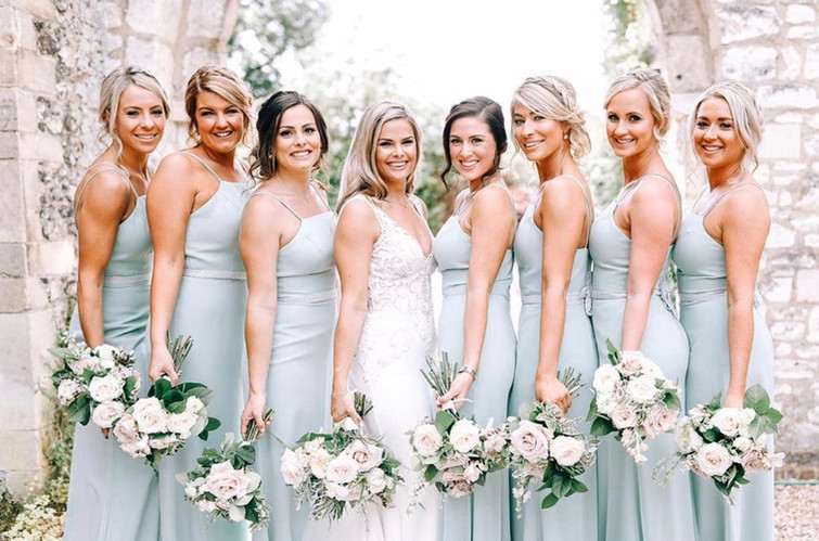 Bridal Party from Henley Wedding