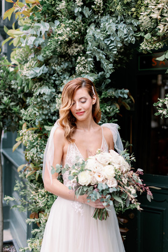 Bride from Styled Shoot at London Venue