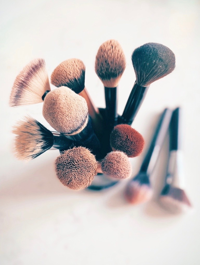 Makeup Brush Still Life