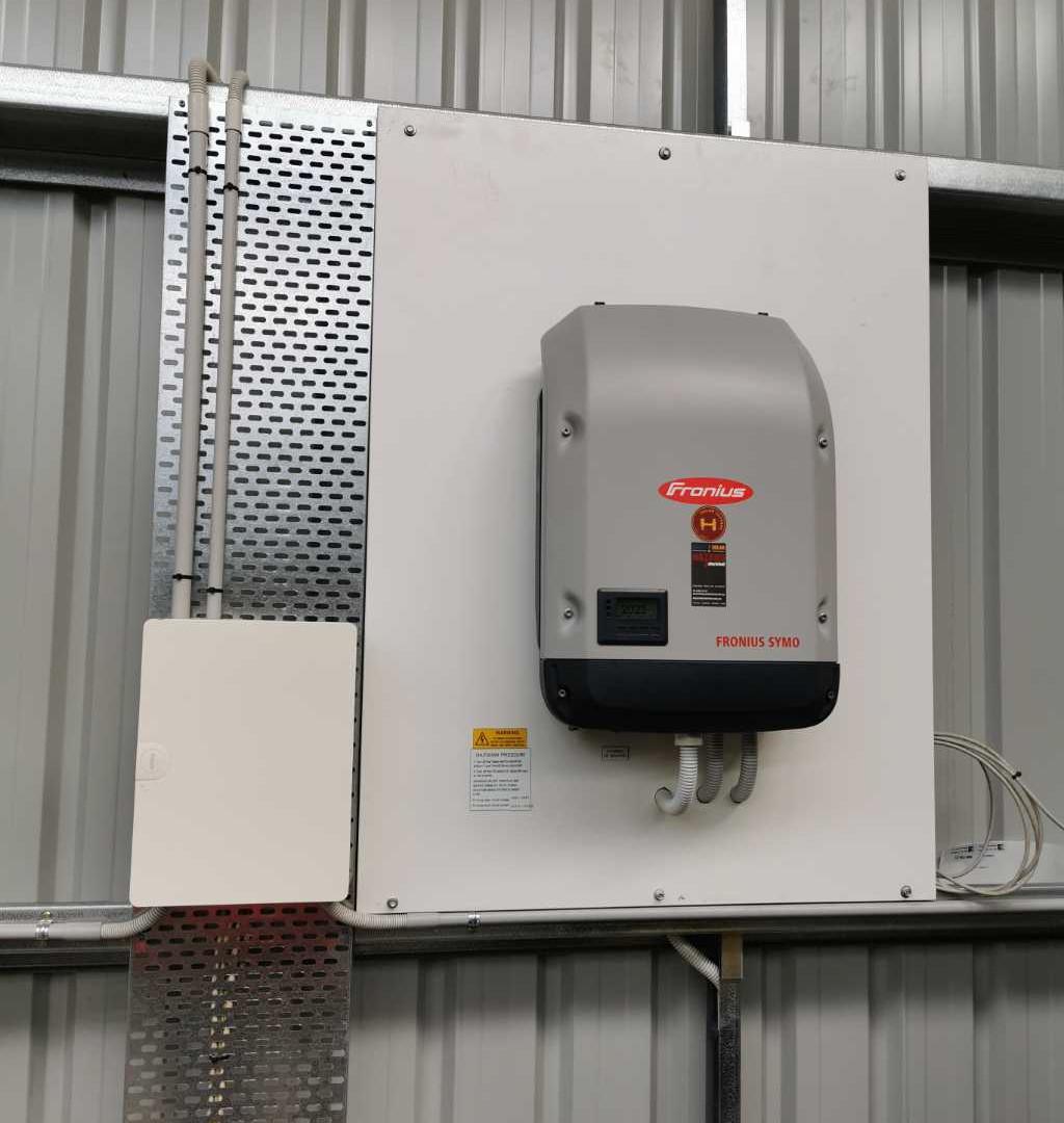 7.9kw install - Grantville - July 2020