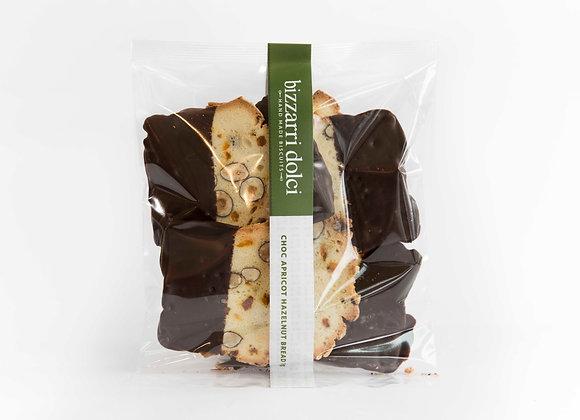 Chocolate Apricot Hazelnut Bread