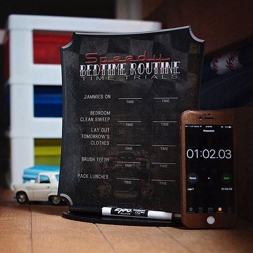 Speedy Bedtime boards