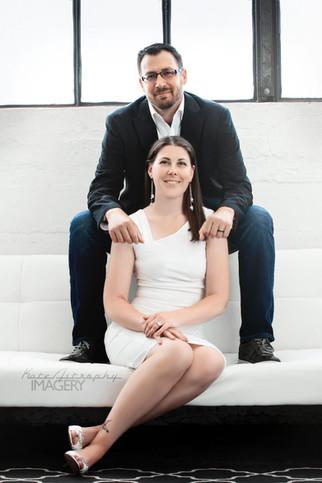 Magazine Style Couples Portrait