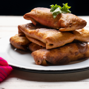 Chicken & Black Bean  Chimichanga