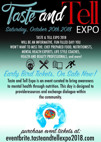 The Second Annual Taste & Tell Expo.