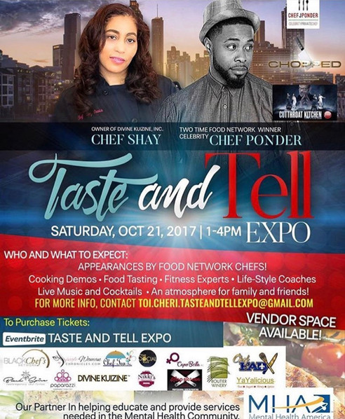 The First Annual Taste & Tell Expo