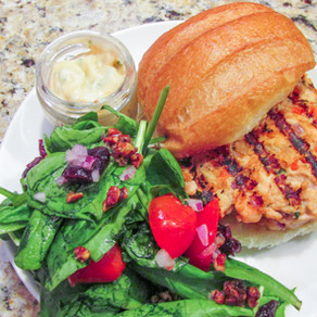 Thai Salmon Burger