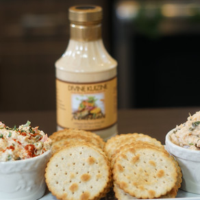Special Occasion Dips. Smoke Salmon and Crab Dip