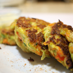 Quick, Easy, Crispy Vegetable Fritters