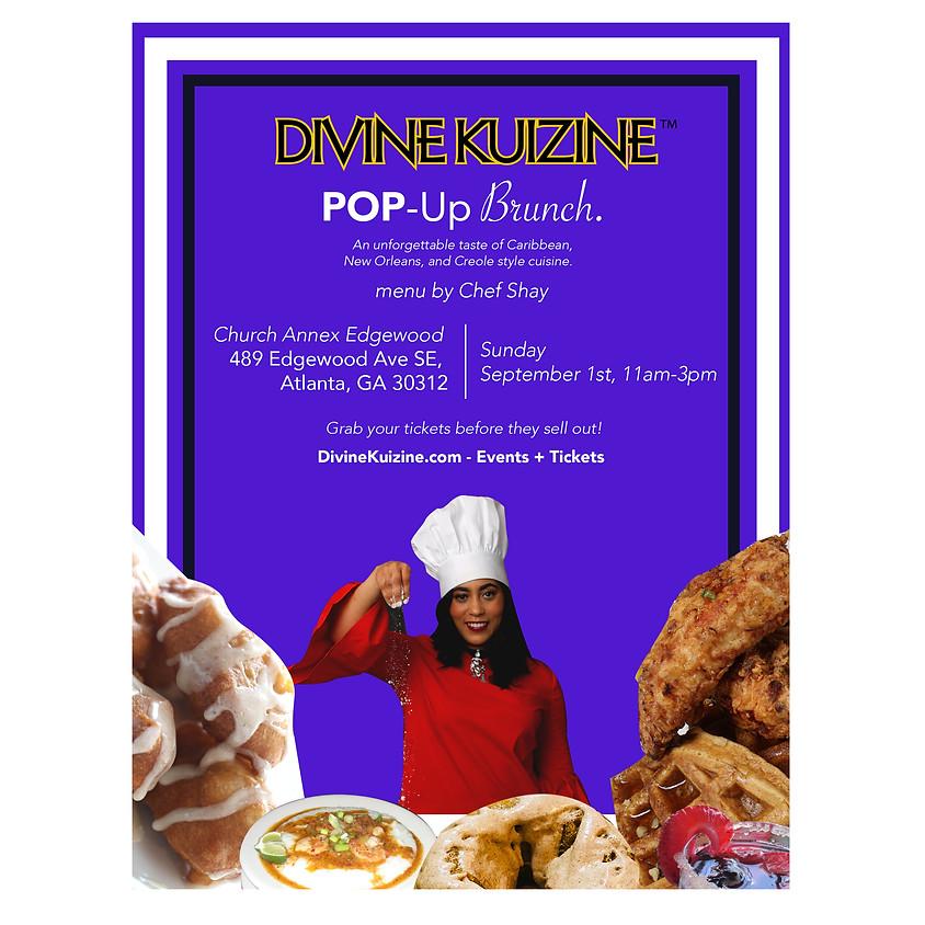 Divine Kuizine™ Pop Up Restaurant (Brunch)