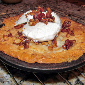 Mini Peach Pie with Caramelized Pecans