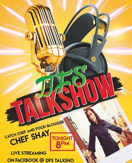 Chef Shay appears on DFS Talkshow!