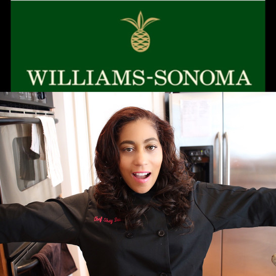 Chef Shay at Williams-Sanoma