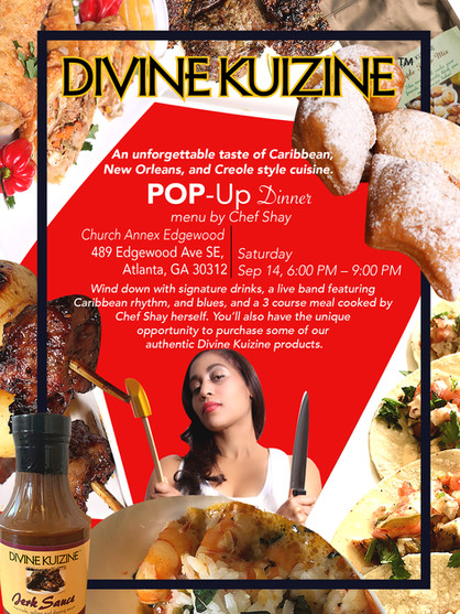 Divine Kuizine Pop Up Dinner