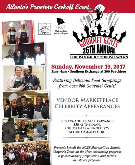 Chef Shay hosts Gourmet Gents 26th Annual Kings of The Kitchen event