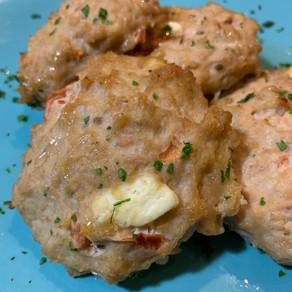 Chicken Feta Burger