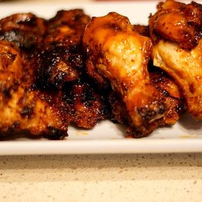 Easy Mango BBQ Chicken Wings (Grill or Bake)
